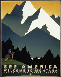bureau free see america welcome to montana us travel bureau vintage travel