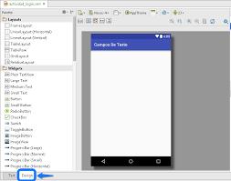 layout en español como se escribe controles tutorial de edittext en android