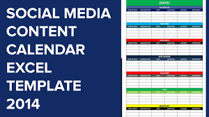 excel template planner social media calender template excel 2014 editorial planner for social media calender template excel 2014 editorial planner for social media youtube