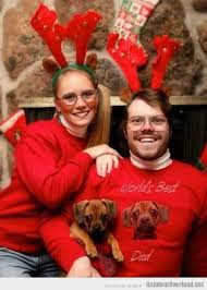Family Christmas Meme - scary family christmas featuring dog randomoverload
