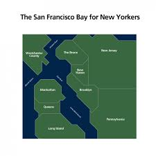 Map Of New York Boroughs by Here U0027s How New Yorkers See San Francisco And Vice Versa Upout