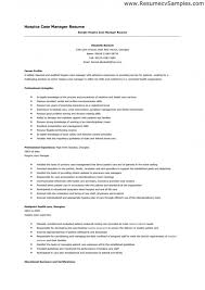 Sample Resume Case Manager by Case Manager Resume U2013 Resume Examples