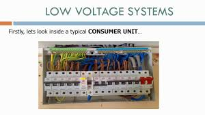 electrical consumer unit wiring youtube