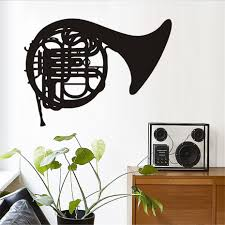 online get cheap music instruments note wall stickers aliexpress cartoon music wall stickers note trombone musical instrument wall stickers bedroom removable vinyl music wall decal