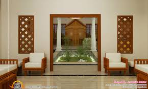 style homes with interior courtyards interior courtyard design kerala home designs and interiors