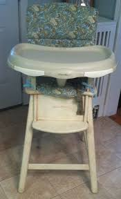 Eddie Bauer Light Wood High Chair Out Of Time U2026 U2013 Rockland Ny Mom
