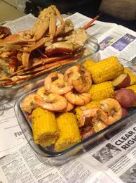 how to make boil crab legs corn shrimp sausage youtube