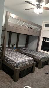 triple bunk beds for boys house stuff pinterest triple bunk