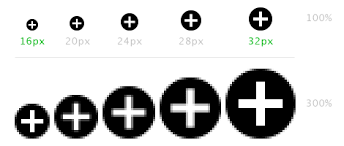 android icon size we re in an icon sharpness limbo