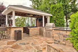 Backyard Grill Area by How To Budget For Your Outdoor Kitchen
