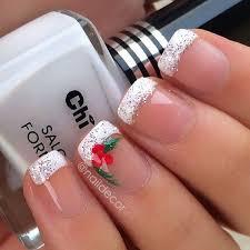 50 festive christmas nail art designs snowflake nail art
