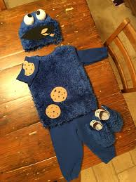 Toddler Halloween Party Ideas Diy Toddler Cookie Monster Costume Halloween Pinterest