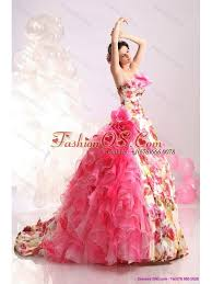 multi color wedding dress ruffles multi color wedding dresses with brush and