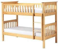 Bunk Beds Pine Solid Pine Bunk Beds Sgmun Club