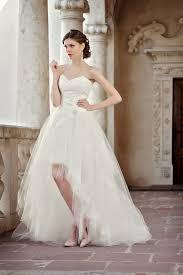 kurze brautkleider mit schleppe brautkleider und hochzeitskleider trends 2016 kleiderfreuden