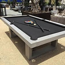 carom table for sale how cool is this they sell outdoor pool tables out of concrete