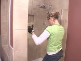 Replacing Shower Door Glass Installing A Glass Shower Door How Tos Diy