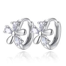kids clip on earrings online shop women trendy jewelry genuine 925 sterling silver