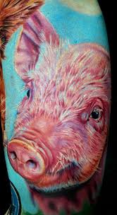 39 best pig tattoos images on pinterest pig tattoos pigs and