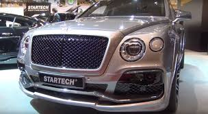 bentley bentayga truck startech bentley bentayga at the essen motor show 2016 autoevolution