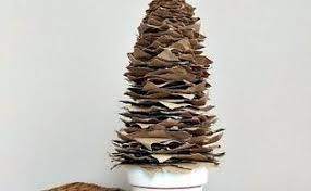where to buy brown christmas tree how to make a size brown paper christmas tree hometalk