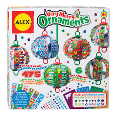 amazon com alex toys craft very merry ornaments toys u0026 games