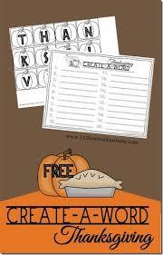 thanksgiving spelling activity