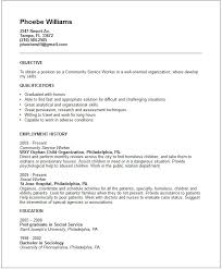 social work resume exles fantastic community service worker resume also unique munity service