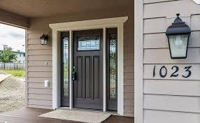 Black Front Door Ideas Pictures Remodel And Decor by Black Front Door With Sidelights Doors Garage Ideas