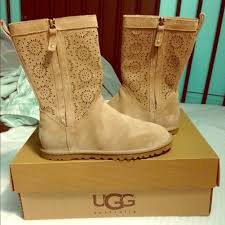 womens ugg lo pro boot chestnut 26 ugg shoes w lo pro perf fawn uggs limited edition