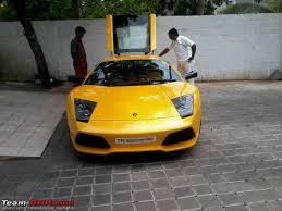 lamborghini car owners in chennai supercars imports chennai page 317 team bhp