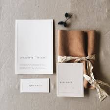wedding invitations with pictures 10 chic minimalist wedding invitations brides