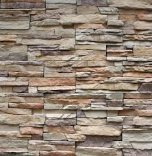 decor natural brown faux stone wall for exciting home decoration