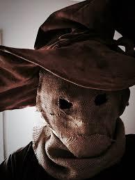 Scarecrow Mask Most Amazing Halloween Costumes Homemade Burlap Scarecrow Mask