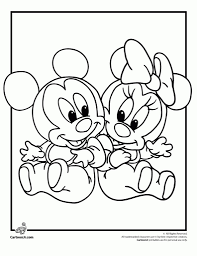 ba disney characters coloring pages cartoonrocks baby