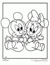 ba disney characters coloring pages cartoonrocks baby