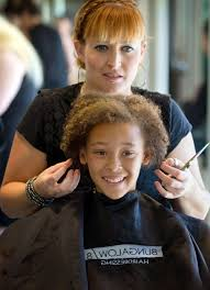 charity event gives kids cool new hairdos for year living