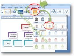 cara membuat struktur organisasi yang menarik cara mempercantik struktur organisasi dengan warna dan style smart