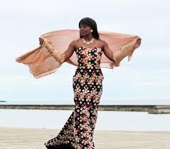 tina lobondi maxi dress london based fashion designer the