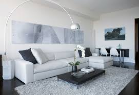 Modern Grey Rug Grey Shag Rug In Living Room Modern With Floor White Wall