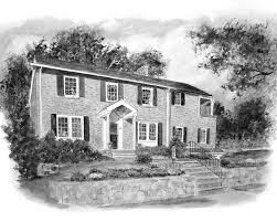 house portraits make perfect gifts for home owners new or old
