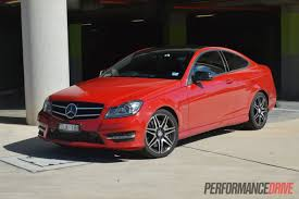 mercedes benz jeep red 2013 mercedes benz c 250 coupe sport review video performancedrive