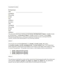basic contract template printable sample personal training