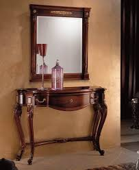 consolas muebles mueble consola luis xv nogal glenda en ámbar muebles