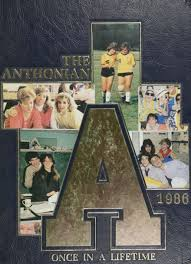 1986 st anthony s high school yearbook online south huntington