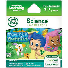 leapfrog explorer learning game nickelodeon bubble guppies