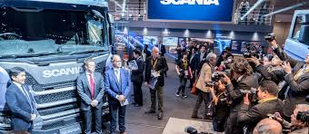 scania comes to tokyo motor show scania group