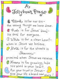 the jellybean prayer free printable