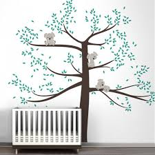 stickers chambre bébé arbre stickers chambre bebe stickers ehong stickers muraux ours