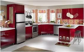 Metal Kitchen Cabinets Ikea Kitchen Red Kitchen Cabinets Home Depot Tags Red Metal Kitchen
